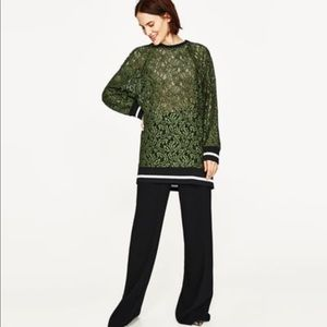 Zara Lace Sweater